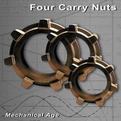 画像1: 【お取り寄せ】 Four Carry Nuts/ / Mechanical Age
