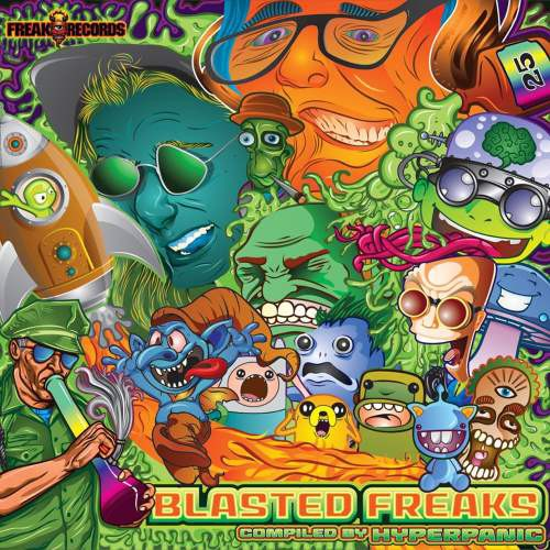 画像1: V.A / Blasted Freaks