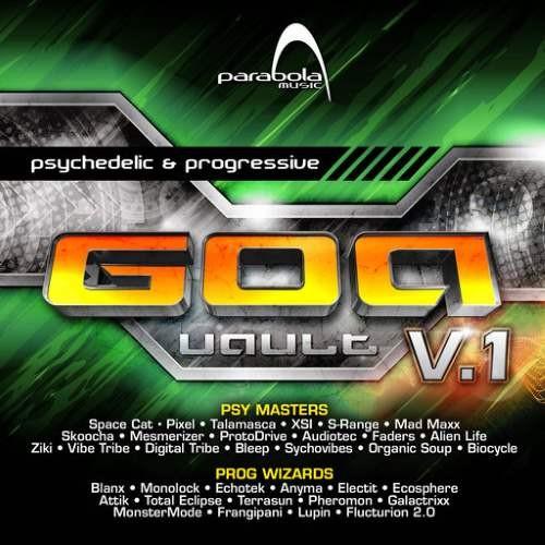 画像1: V.A / Goa Vault V.1 (Full On + Pro-Trance)