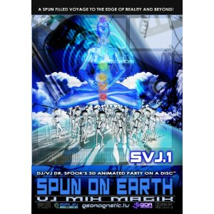 画像1: V.A / Spun On Earth (MIX CD + DVD)
